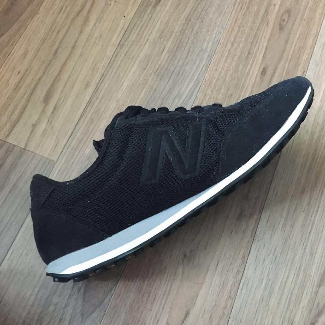 Black New Balances (Size 6 in Men's & 8 in Woman's)