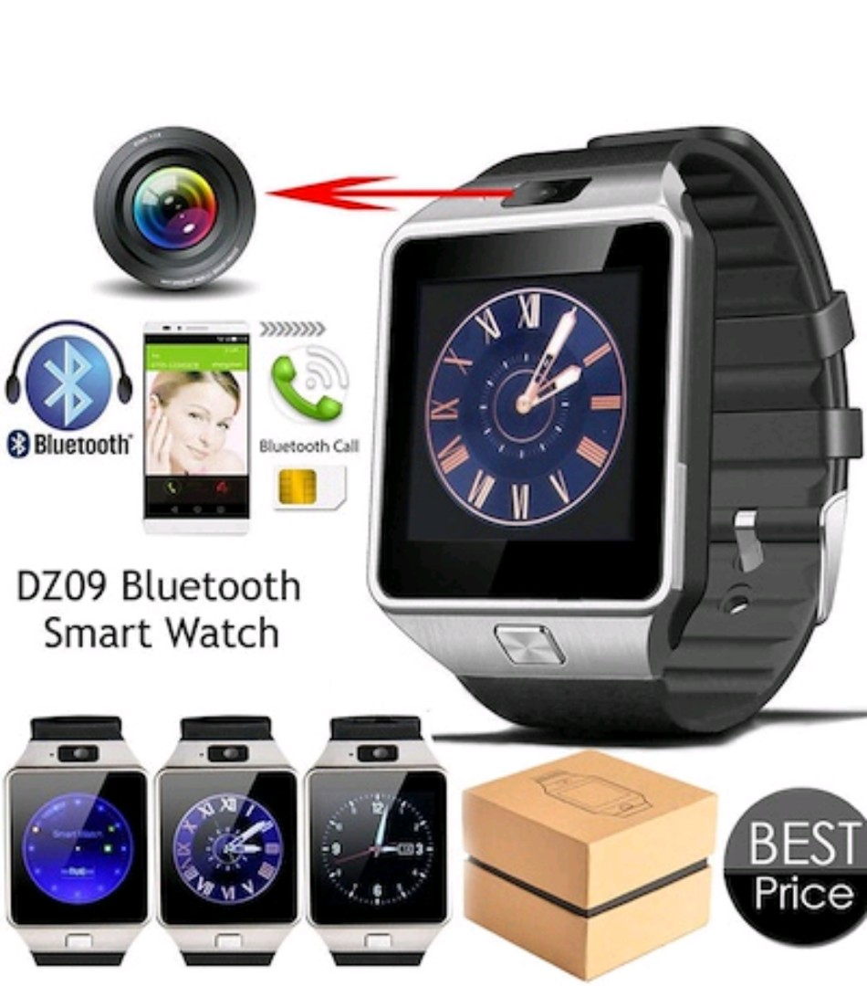 Bluetooth Smart Watch Dz09 With Sim Card Slot And Micro Sd Slot