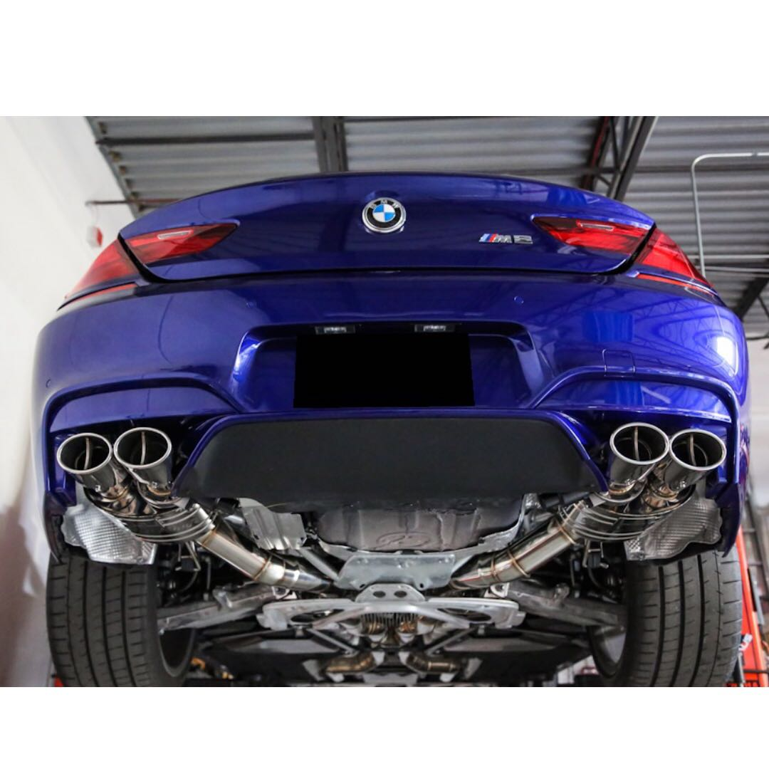 Bmw F06 Gran Coupe Valvetronic Exhaust System With Remote Control