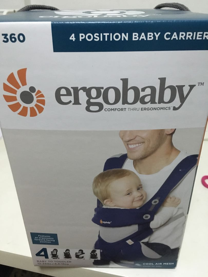 1a20b79910b BN unused Ergobaby 360 mesh