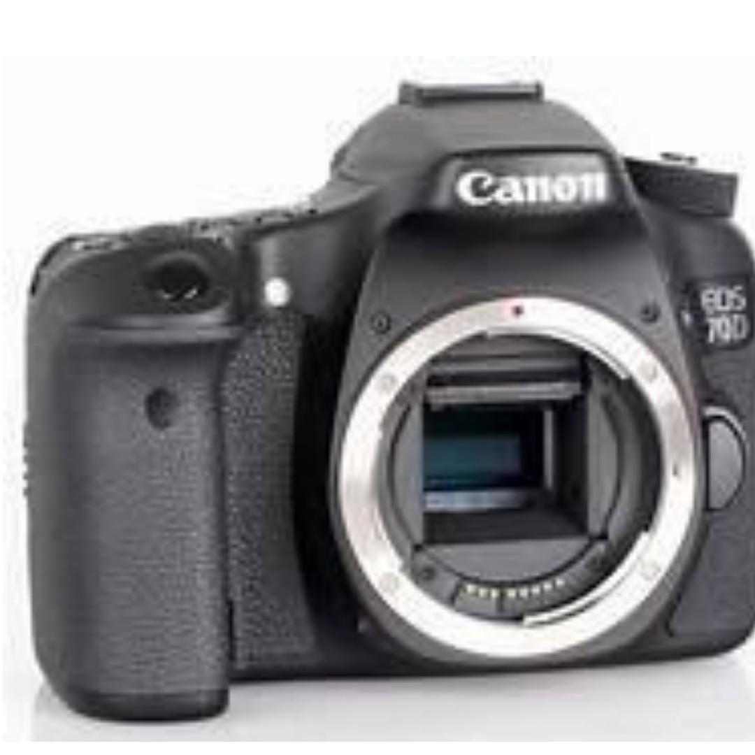 Canon EOS 70D 單眼相機 單機身 取代 80D 800D RX100 M5 RX100M4