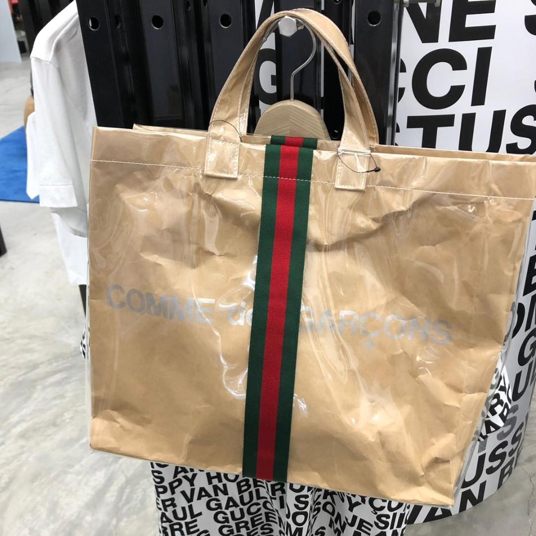 f55390032a99 Comme des Garcons CDG x Gucci Tote Bag