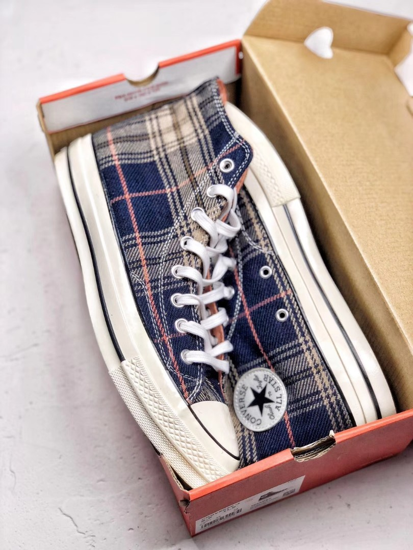 4ccd14179c5b Converse Chuck Taylor All star 70 Plaid, Women's Fashion, Shoes ...