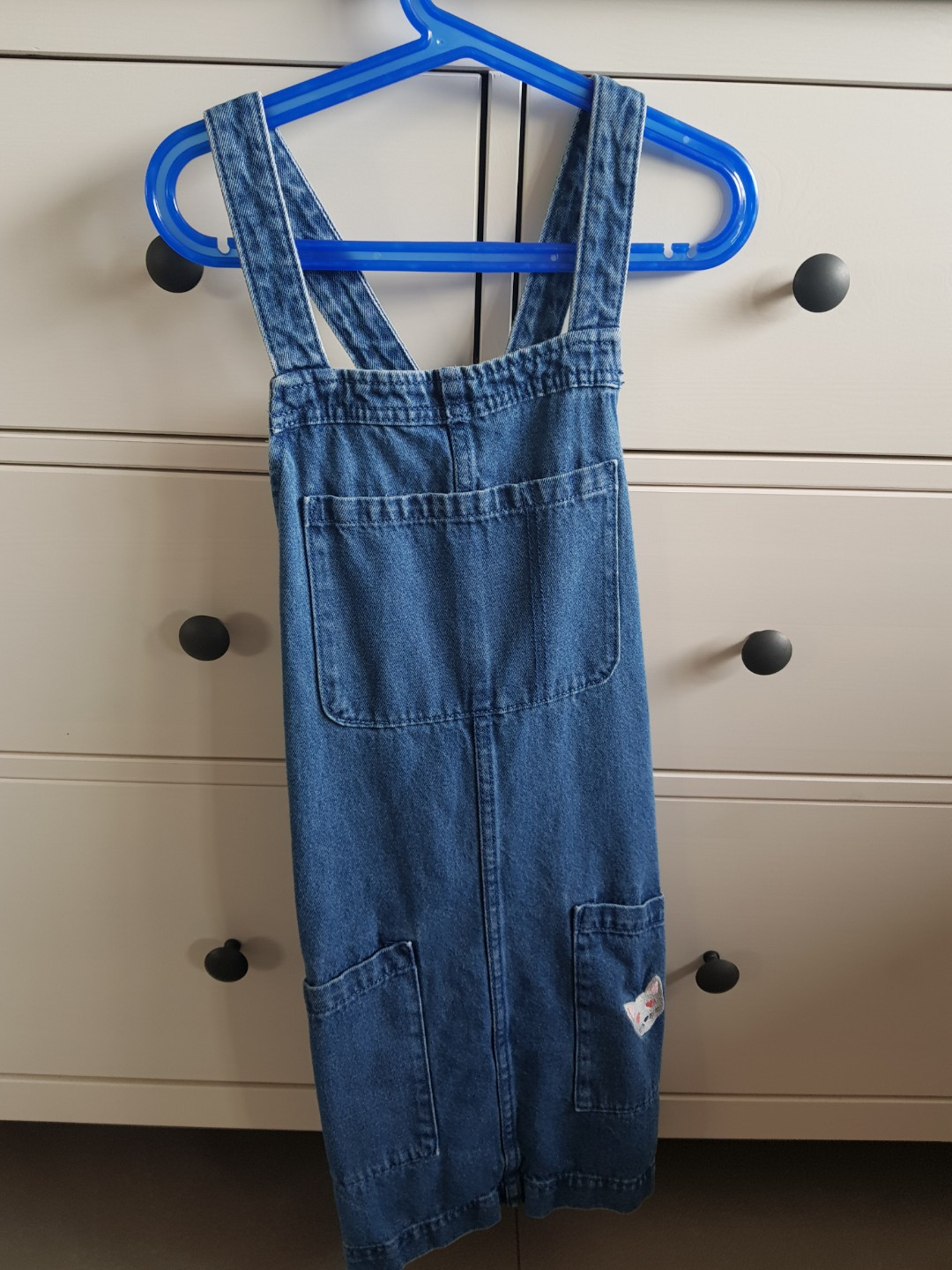 17afb02797 Cotton On cute denim overalls dress, Women's Fashion, Clothes ...
