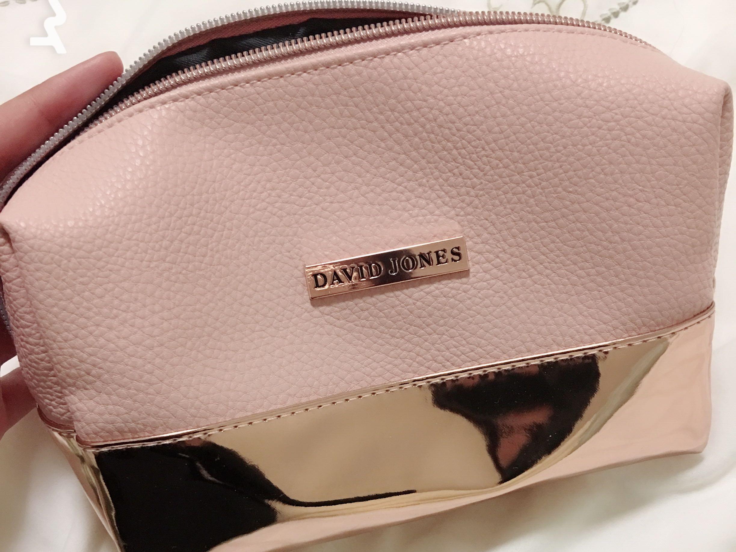 David Jones cosmetic bag