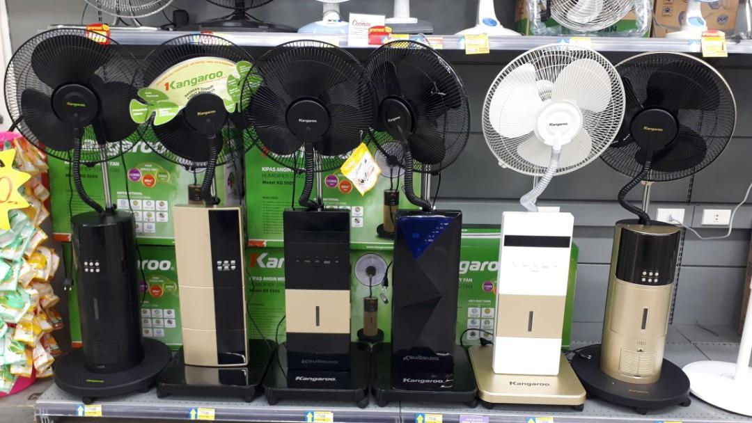 DP 0% Kredit Kangaroo Misty Fan (Kipas Angin Air)