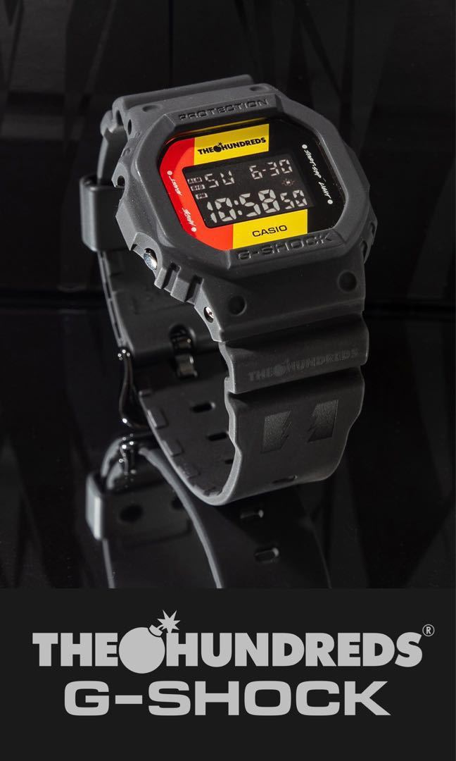 G Shock X The Hundreds Dw 5600hdr 1 Collaboration Watch Men S
