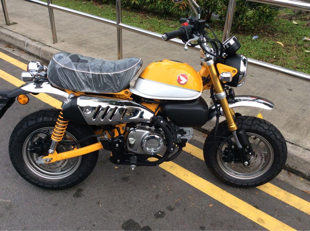 Honda Monkey 125 Motorbikes Motorbikes For Sale Class 2b On Carousell