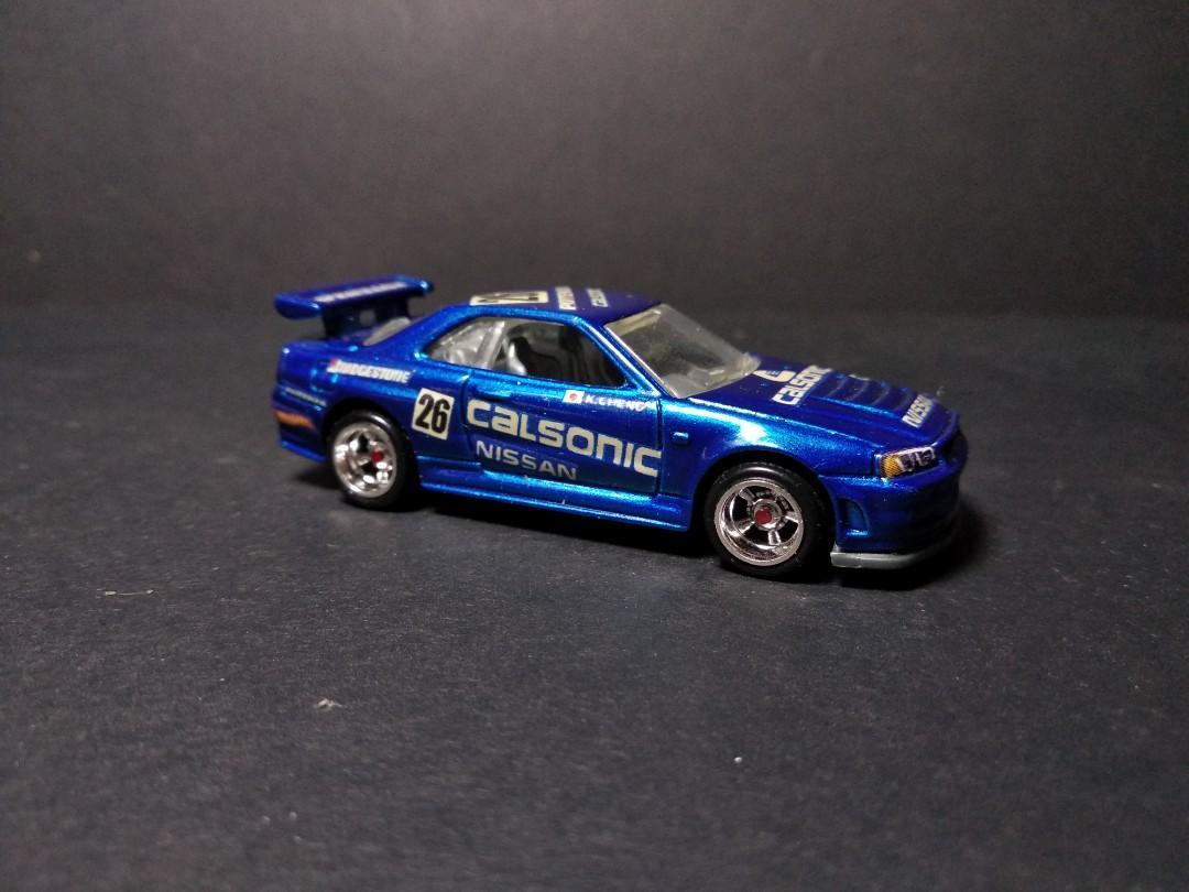 Hot Wheels Calsonic Nissan Skyline Gtr R34 Custom Toys Games Others On Carousell