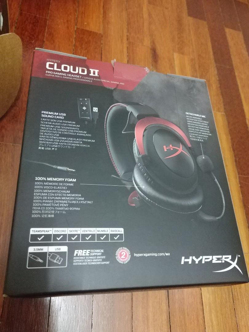Hyper X Cloud 2 Red