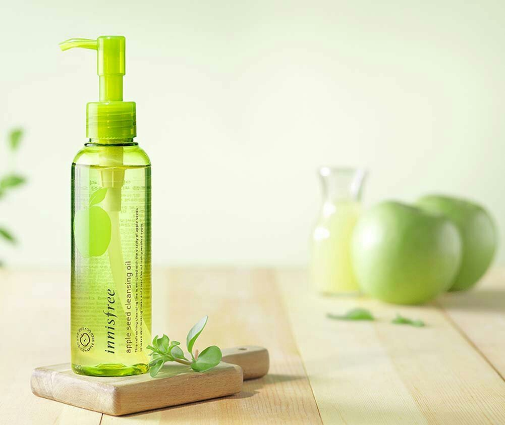 Image result for 4) INNISFREE Apple Seed Cleansing Oil