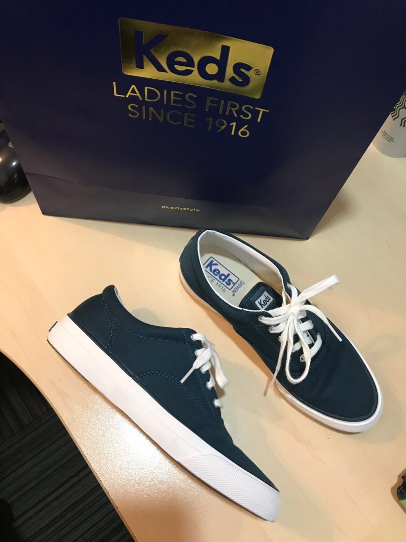 05ad2ed7ae347 Keds Cotton Sateen - Brand New