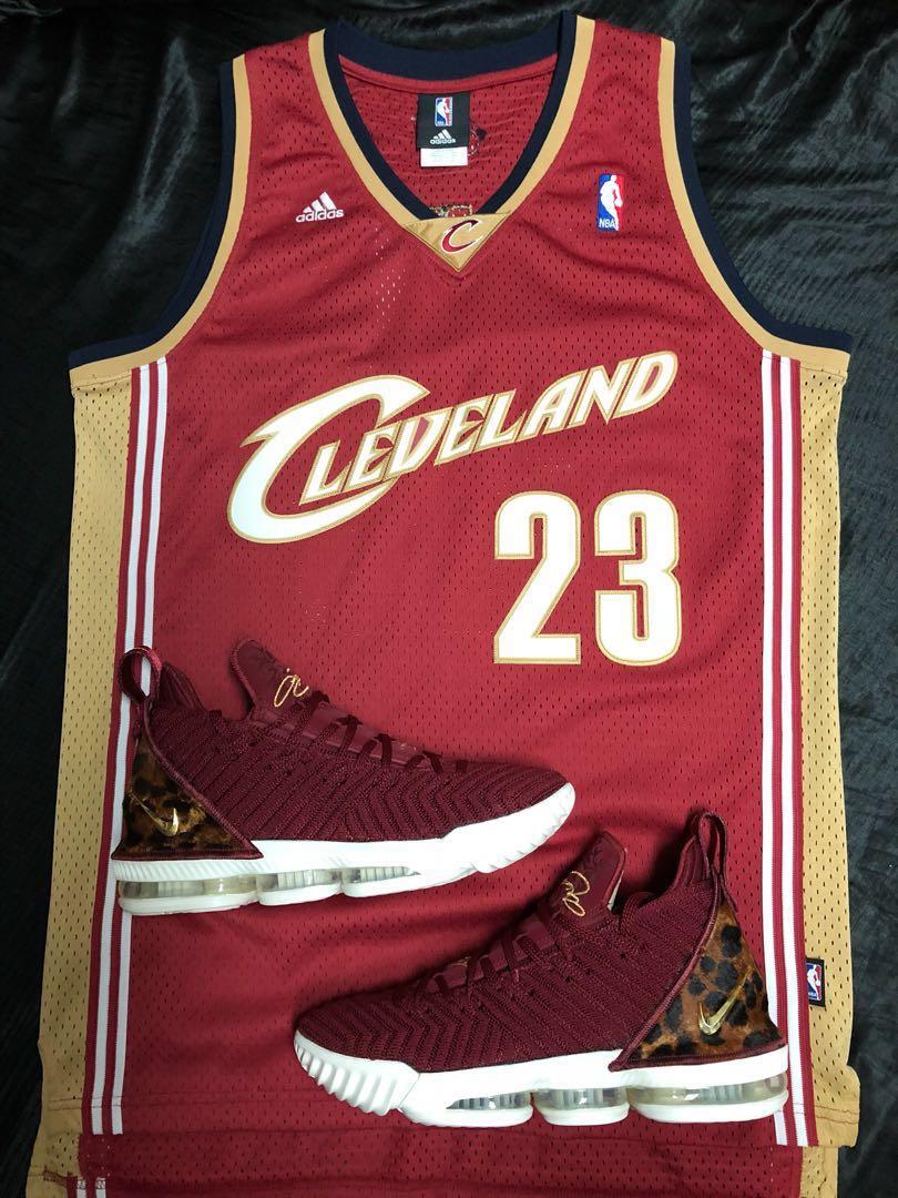LeBron James Nike LeBron 16 Cavaliers