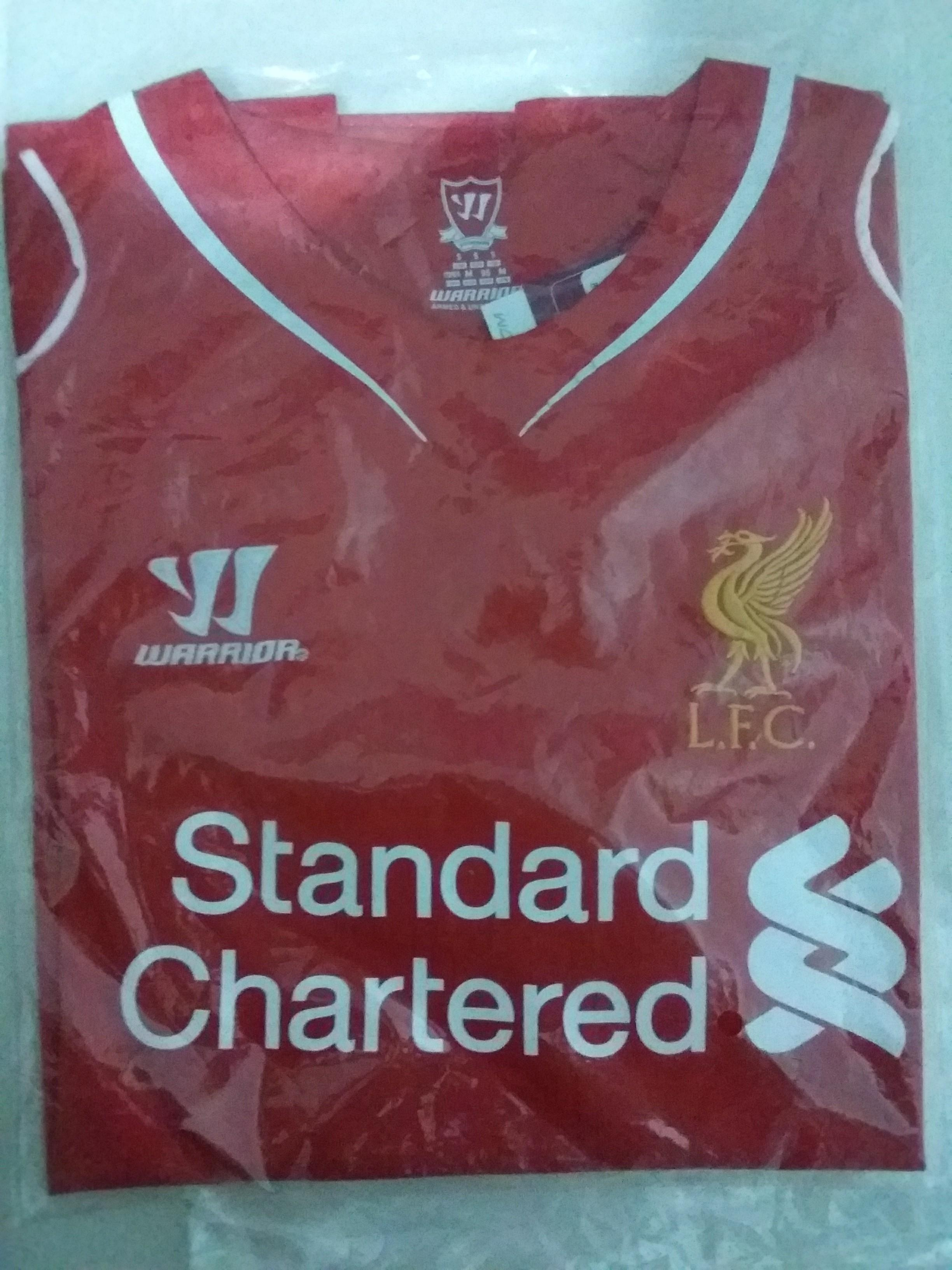 best service bf733 f2dec Liverpool Jersey 2014/15 Home, Sports, Sports Apparel on ...