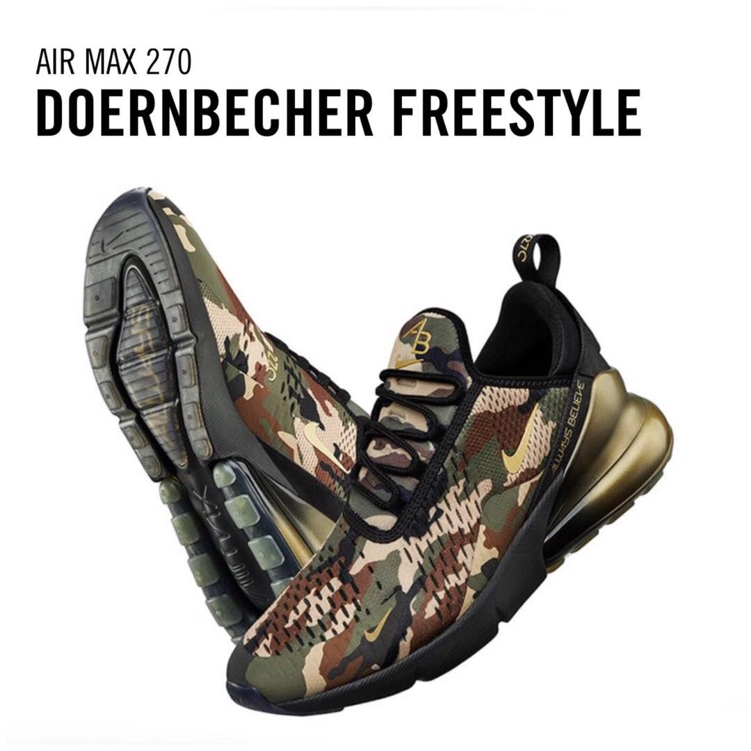 e16876c2a18c Men s Nike Air Max 270 Doernbecher x Nike Freestyle 2018