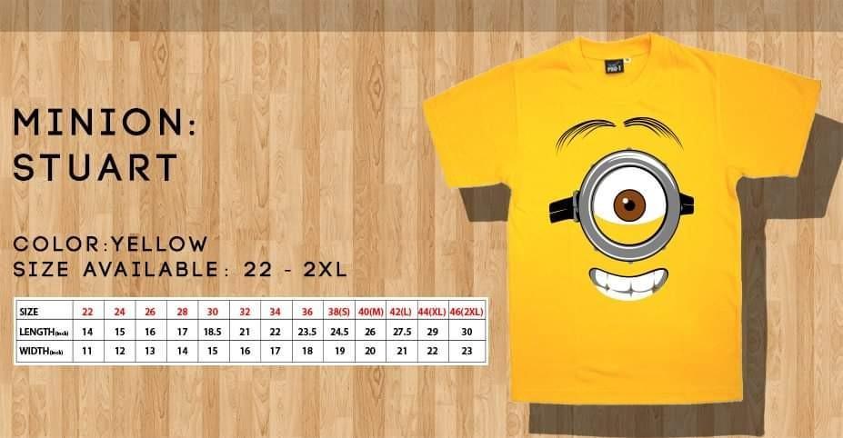 Minion T shirts