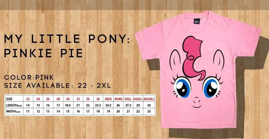 My Little Pony T shirts