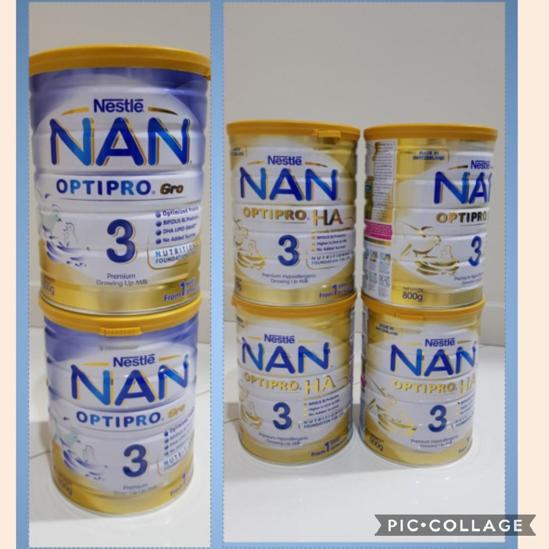 Nan Optipro Gro 3 Nan HA 3