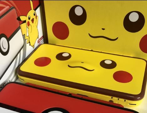 New 2ds Xl Pikachu Edition Toys Games Video Gaming Video Games
