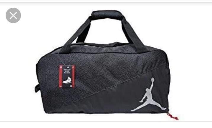 5216fb67da43 REPRICE!!! Nike Jordan Jumpman Sports Elemental Duffel Gym Bag