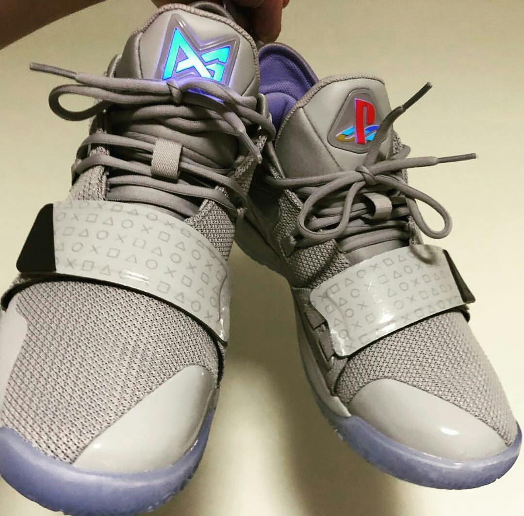new style 412a0 34f75 Nike PG 2.5 PlayStation mens Size 7 paul George 2018 Limited ...