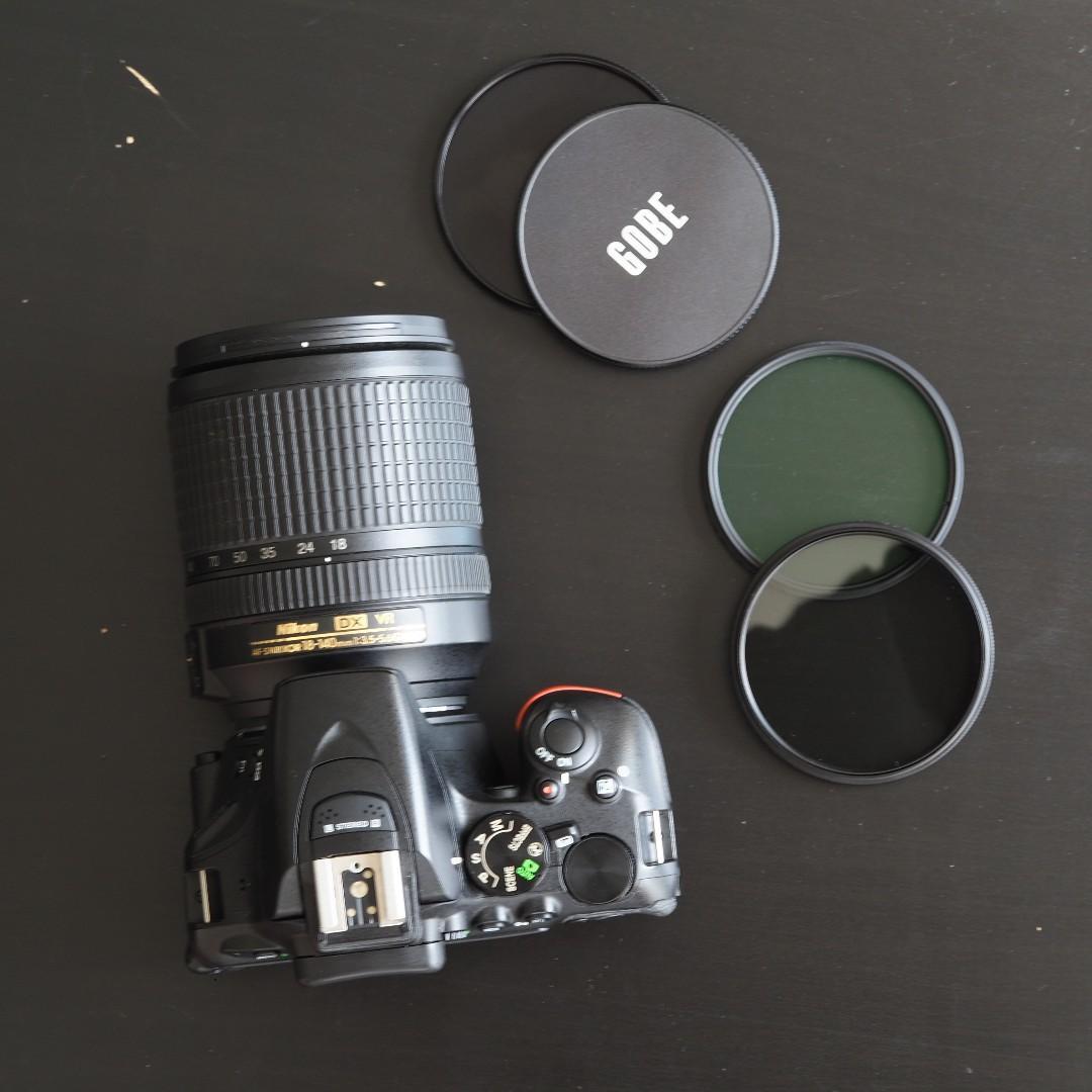 Nikon D5500 Touchscreen DSLR Camera with NIKKOR 18-140mm f/3.5-5.6G ED VR Lens