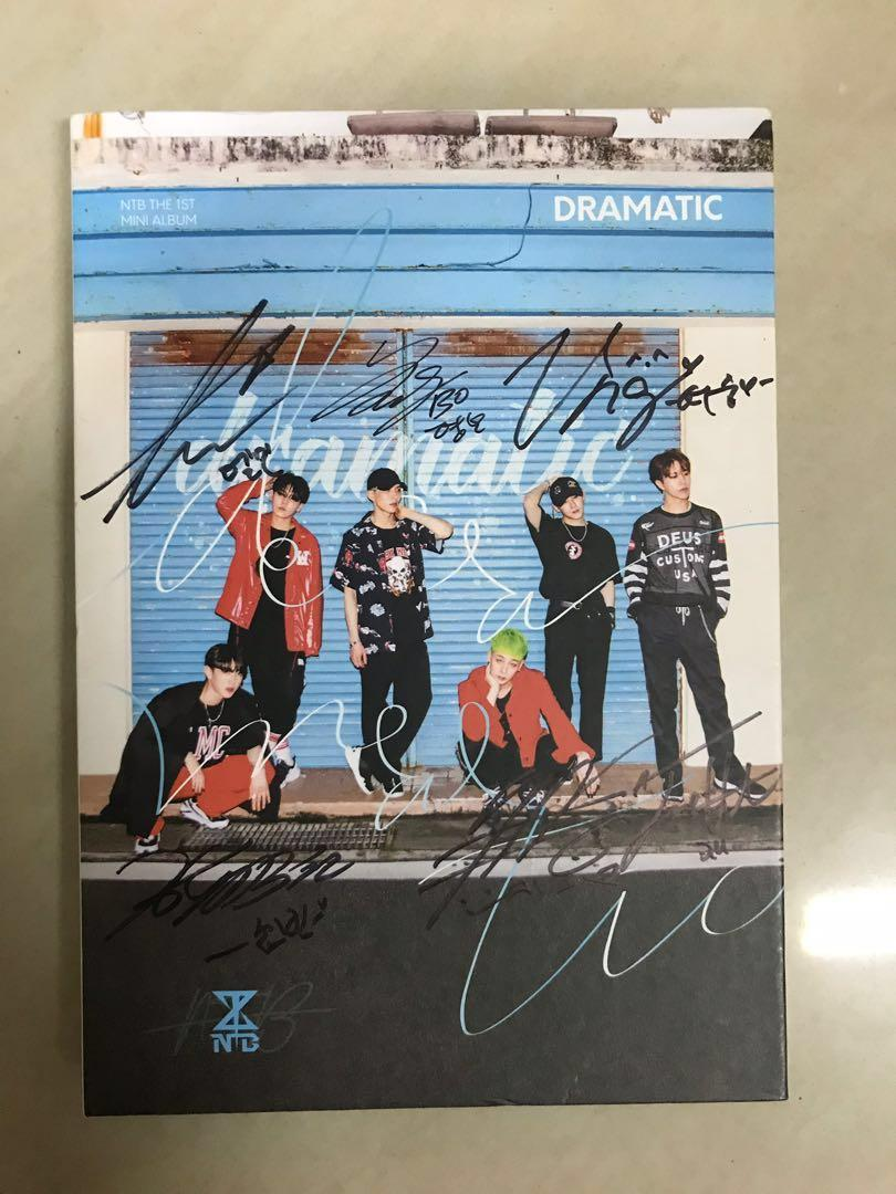 NTB The 1st Mini Album-DRAMATIC (LIMITED EDITION with SIGNATURE)