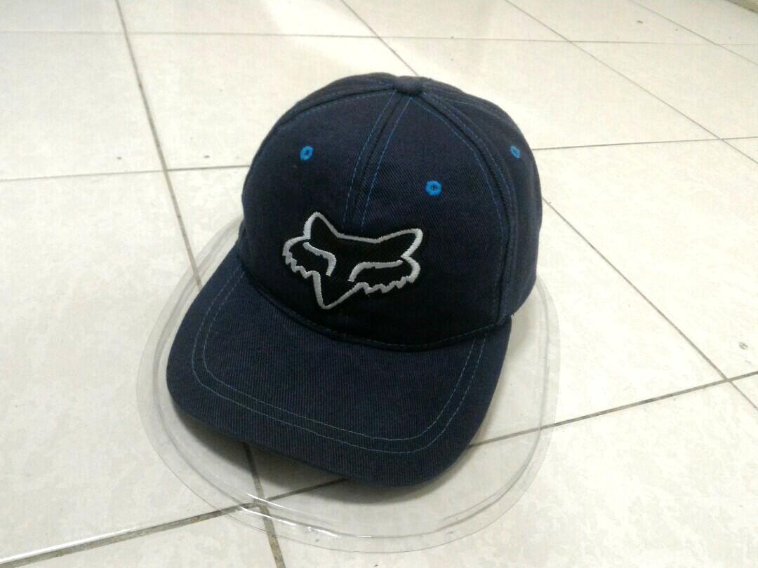 Original fox racing snapback cap topi hat 48f35643d6