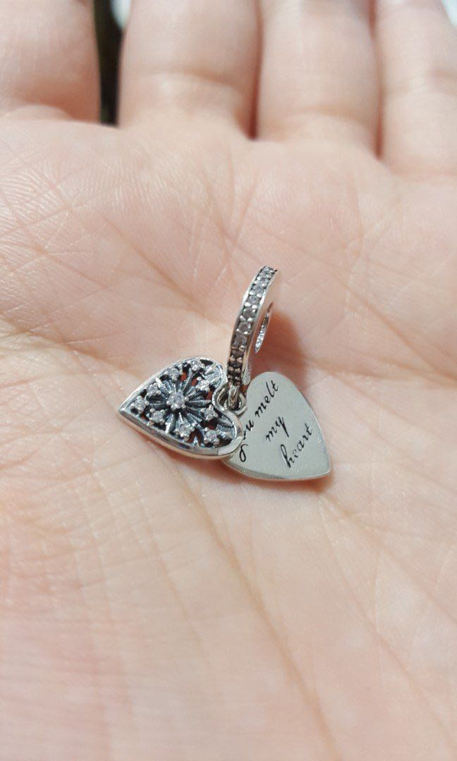 98dd38681 OUT OF STOCK) Code SS788 - Heart Love You Melt My Heart Snowflake ...