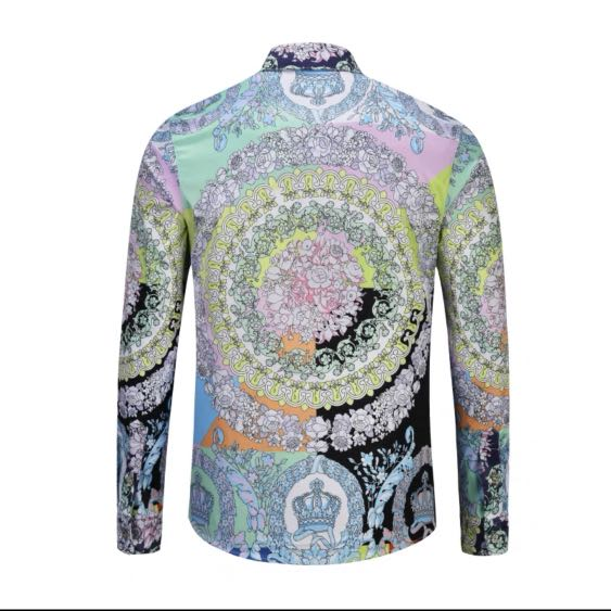 b1760161a1006d Pastel Coloured Venetian Long Sleeve Shirt, Men's Fashion, Clothes, Tops on  Carousell
