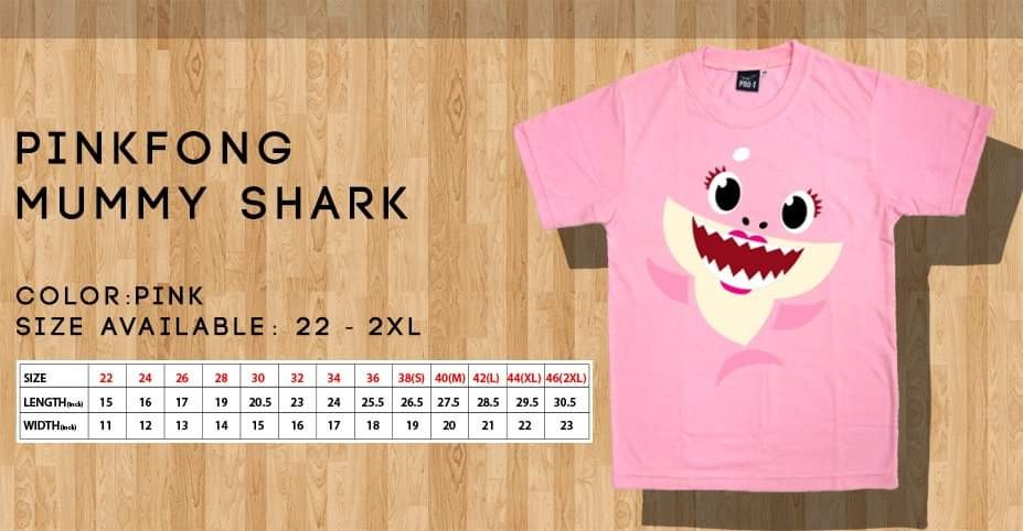 962511f5 Pinkfong Baby Shark T shirts, Luxury, Apparel, Kids' on Carousell