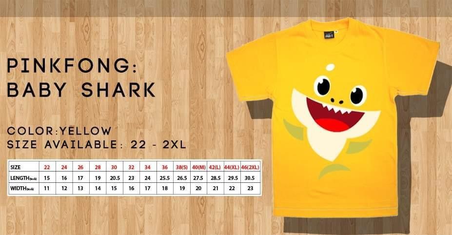 Pinkfong Baby Shark T shirts
