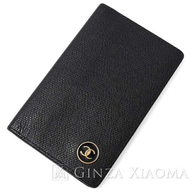 1e270147cea1 [Pre] CHANEL Coco Button Card Case Leather Black Business Card Holder mns  167710, Luxury, Bags & Wallets on Carousell