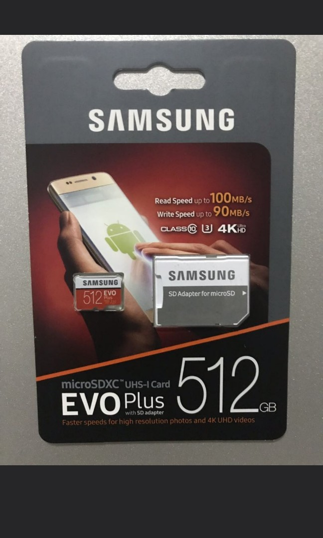 Samsung 512gb Micro Sd Card Electronics Others On Carousell