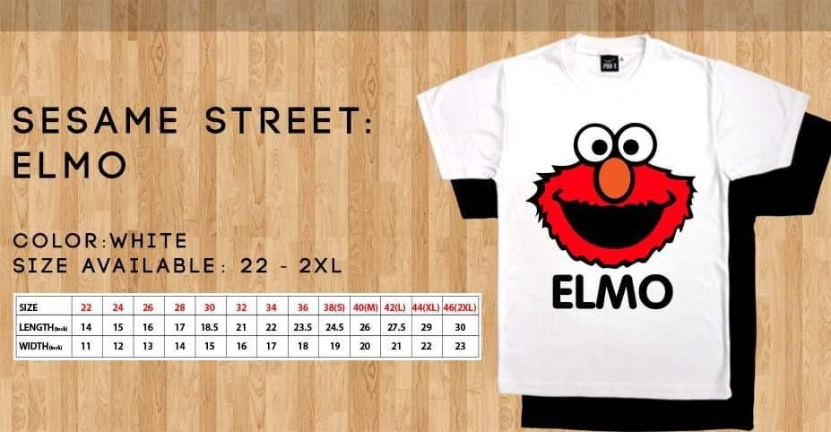 Sesame Street T shirts