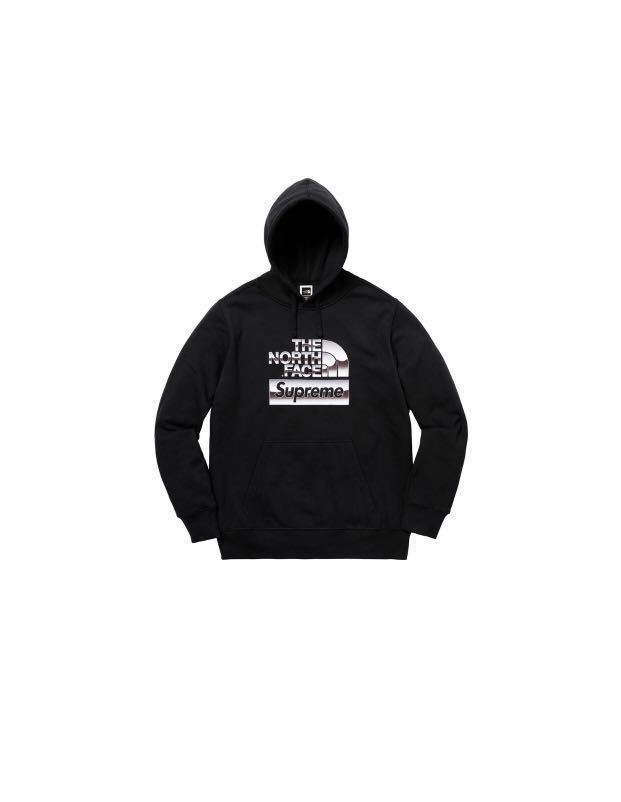 c835ed15c796 Supreme The North Face Metallic Logo Hoodie Medium