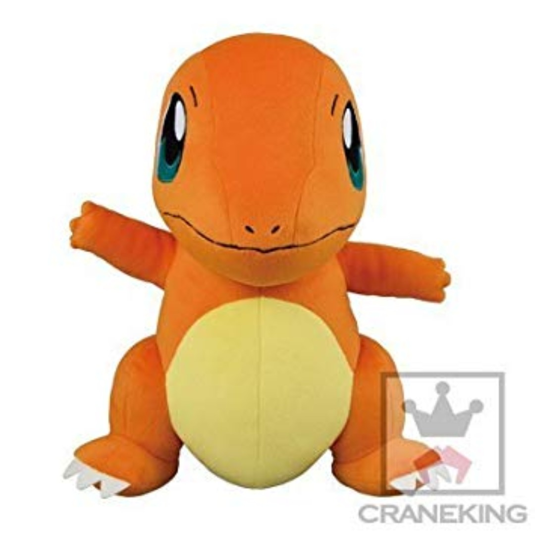 62769522353 TOREBA  BANPRESTO Pokemon Movie I Choose You! Charmander Big Large ...