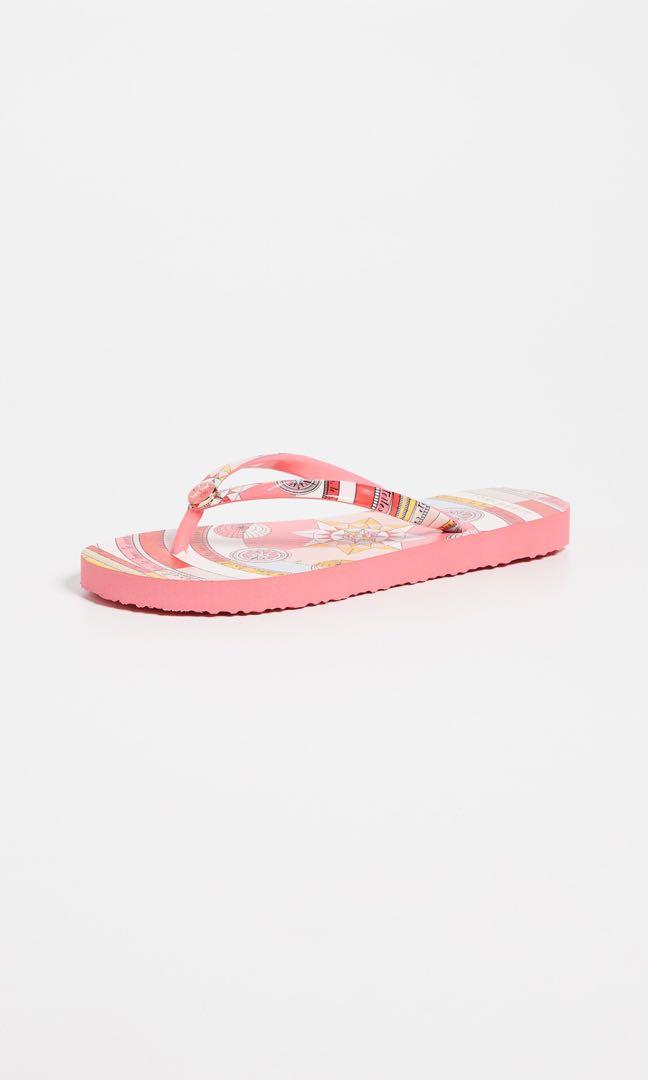 65efb135c5e0d9 Tory Burch Pink Constellation Flip Flops