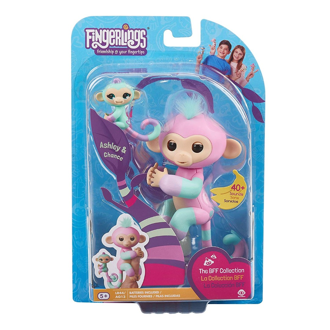 Spare batteries for wowwee fingerlings animal baby monkey