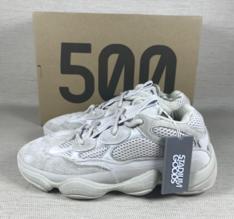 Yeezy 500 Blush , Salt , Black