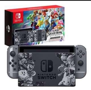 Unopened BNIB Nintendo Switch Super Smash Bro Ultimate edition w Warranty