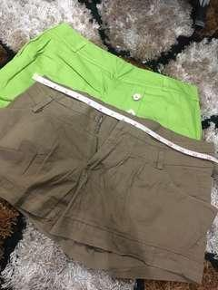 2pcs bundle shorts!