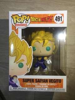 Funko Pop - Anime Dragonball Z Super Saiyan Vegito