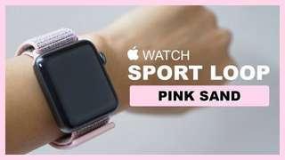 Original Apple Watch Pink Sand Sport Loop