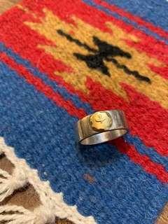 Goros 925 sterling silver 純銀介指 mens ring 100% real size 21 Tady King 鷲見太郎 Tarowashimi preowned