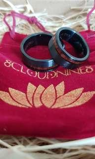 Pre order item arrived. Couple Custom Tungsten Carbide Rings