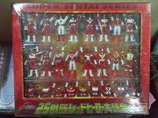 Super sentai 25th, red rangers