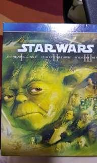 Star Wars Episode I-III Blu-ray Bluray