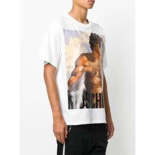 🚚 Moschino Greek God T-shirt Tee