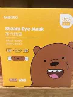 We bare bears steam eye masks